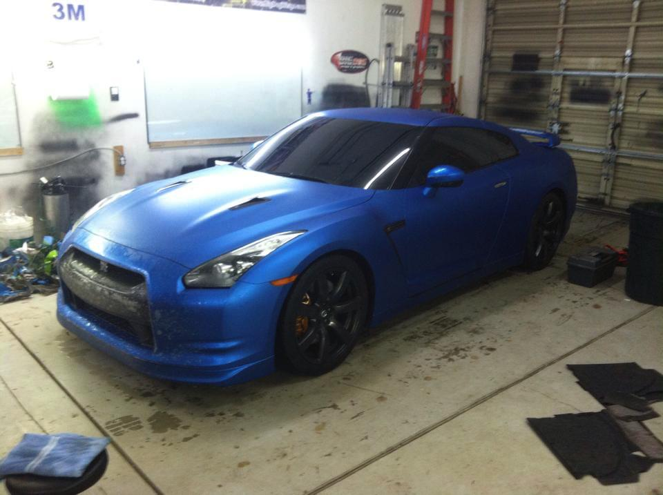 Dark Blue Sports Car Dark Blue Sports Car Wrap
