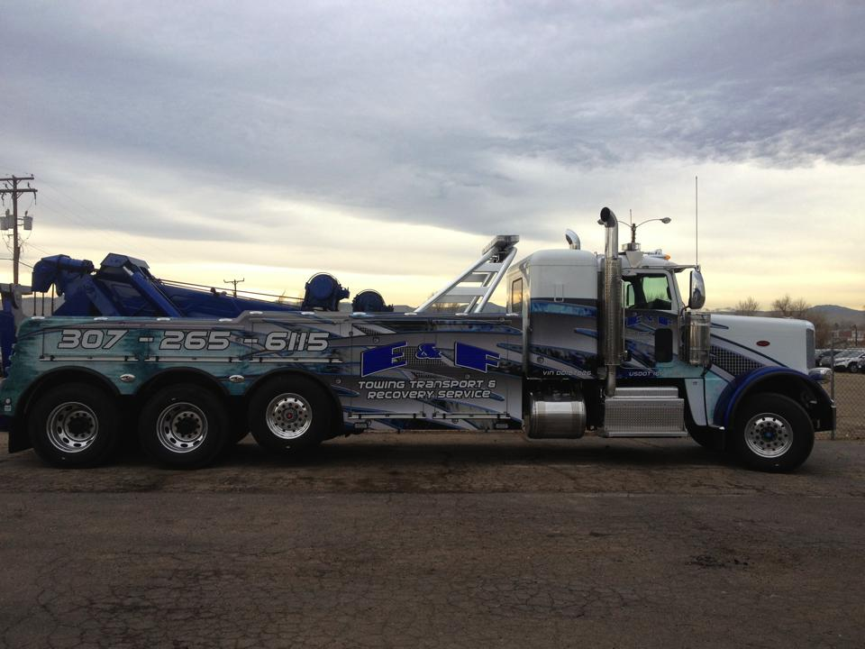 tow truck wraps side