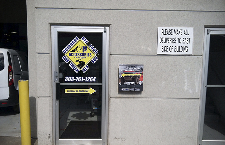 Use window space to advertise with Window Graphics