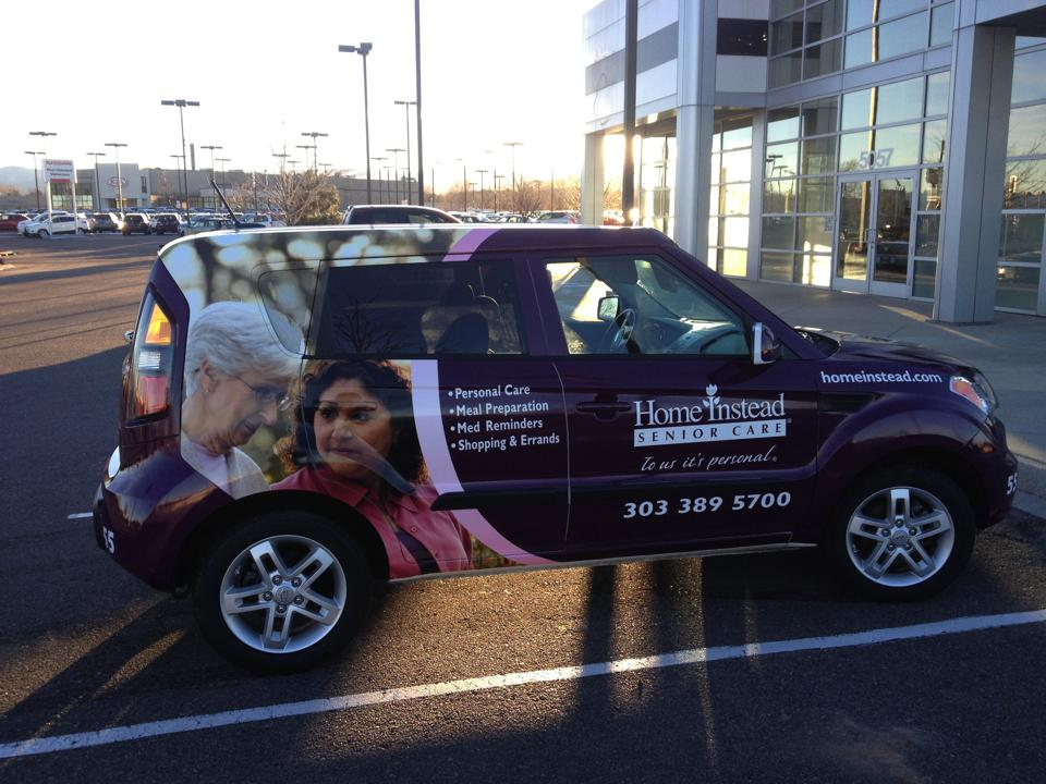 Advertising car wrap solutions at Big Dog Wraps & Graphics