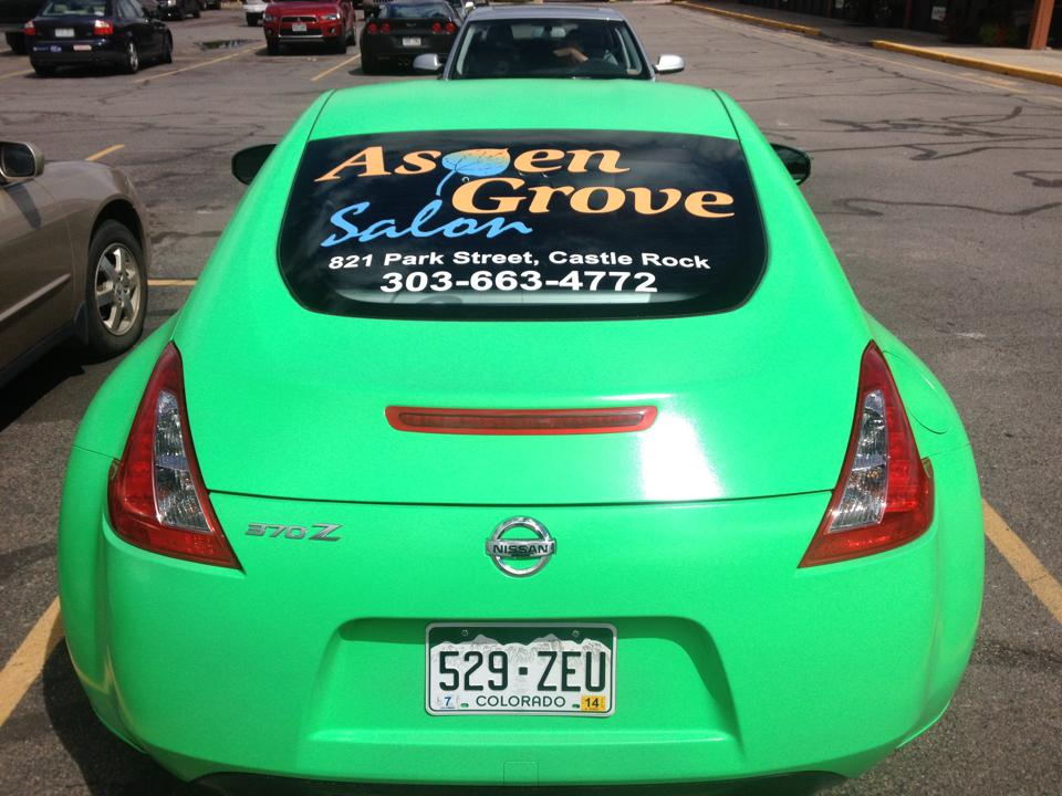 Big Dog Vehicle Wraps Amp Window Graphics Denver Custom