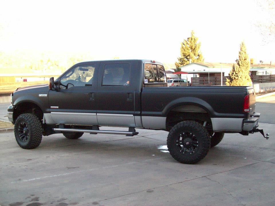 big truck dark wrap