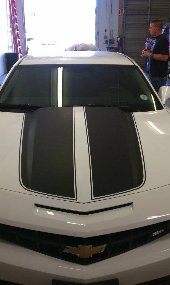 Black & White hood wrap