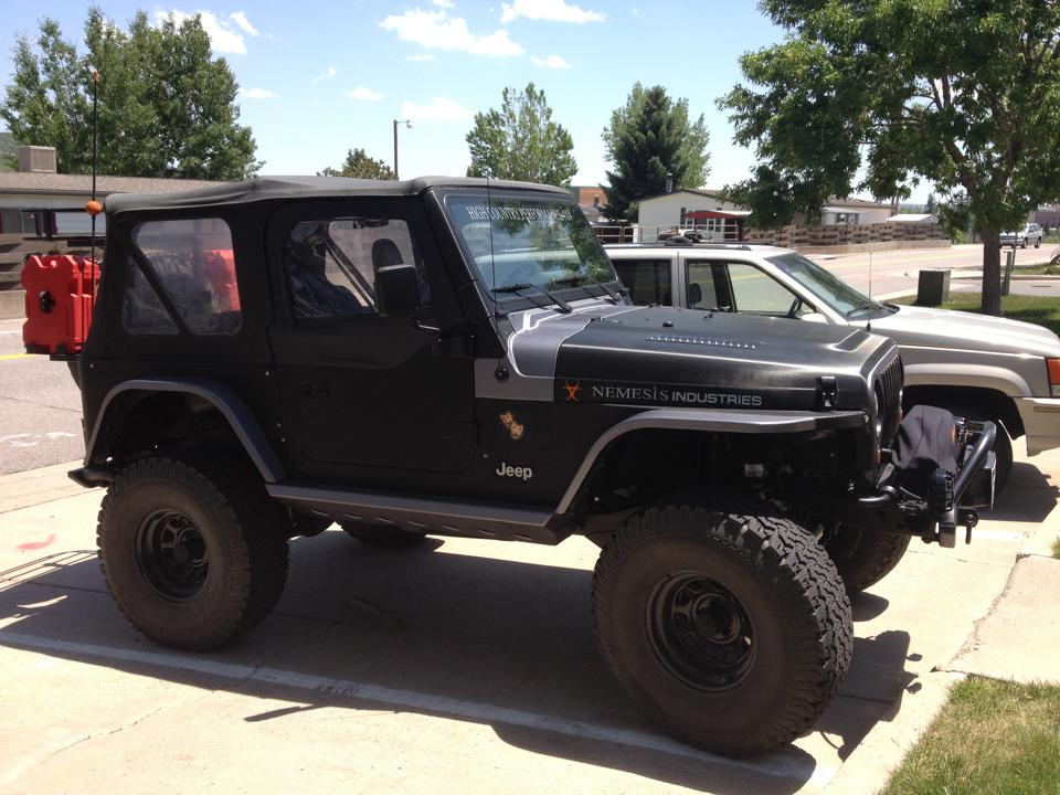 Jeep custom wrap