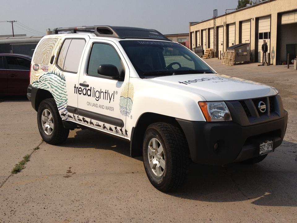 white pathfinder wrap side & Front