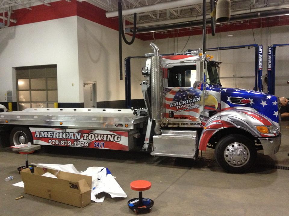 Big Dog Vehicle Wraps Window Graphics Denver Custom Banners - Graphics for cars and trucks