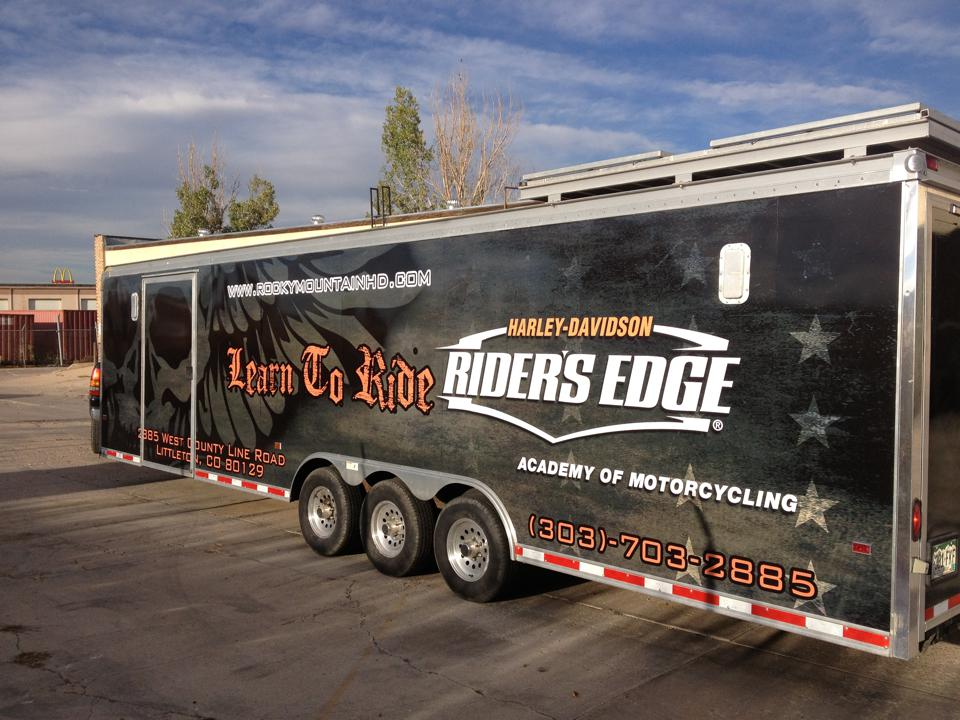 Big Dog Graphics Trailers full  wrap