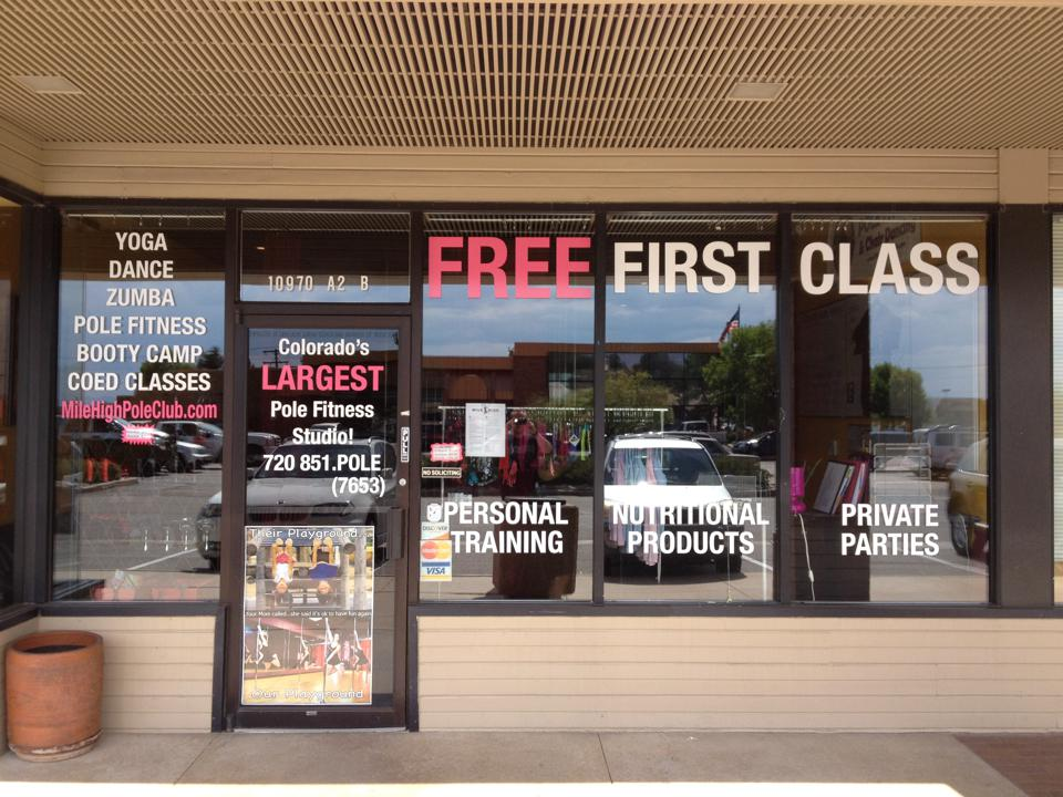 Take Advantage Of Your Shop Windows & Advertise With Style
