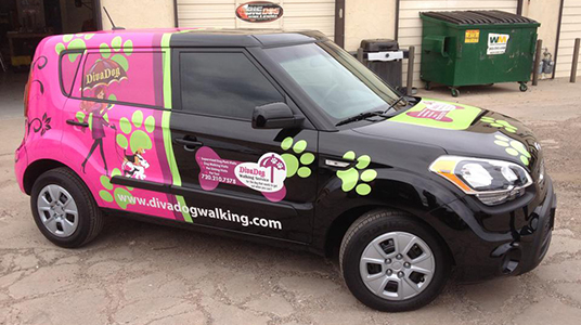 Custom Designed Vinyl Car Wraps