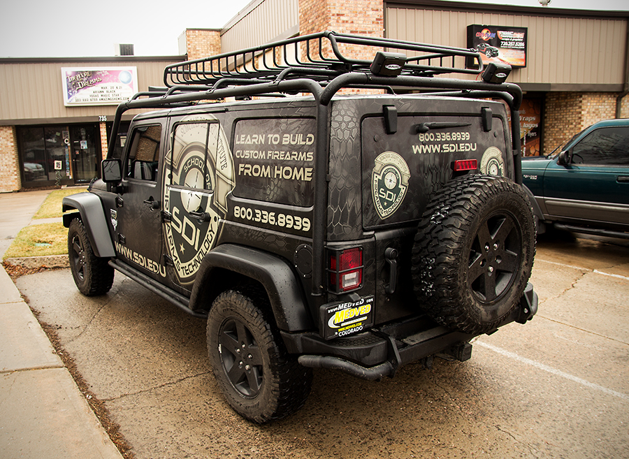 vehicle wraps, care and maintenance