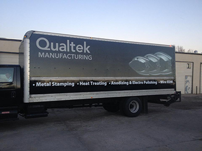 wrap advertising for Tow Trucks, Busses, RVs