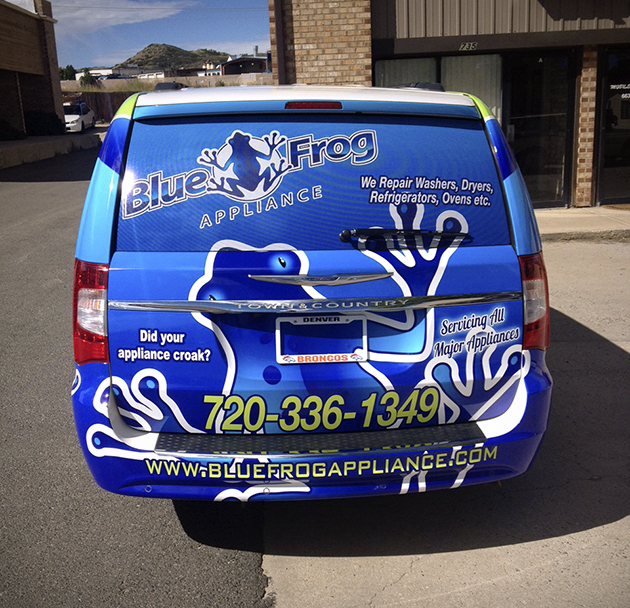 Advantages of Back Window Graphics
