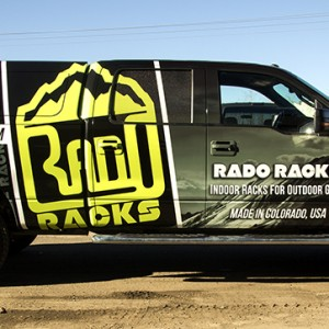 corporate image with vehicle wraps