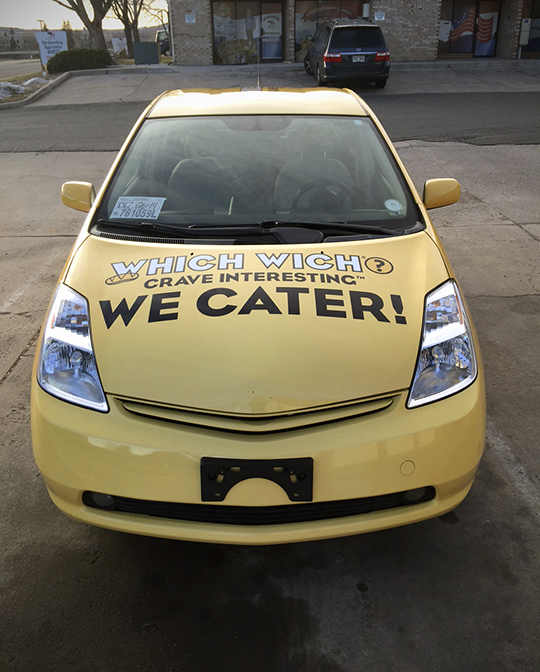smart slogan with vehicle wraps